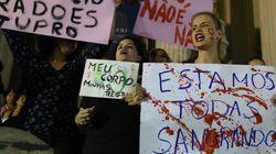 Brasil se echa a la calle, asqueada por las violaciones
