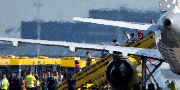 Holanda envía dos cazas para interceptar un avión de