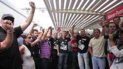 Escritores y periodistas del 'Tren negro' se suman a la protesta minera (VÍDEO,
