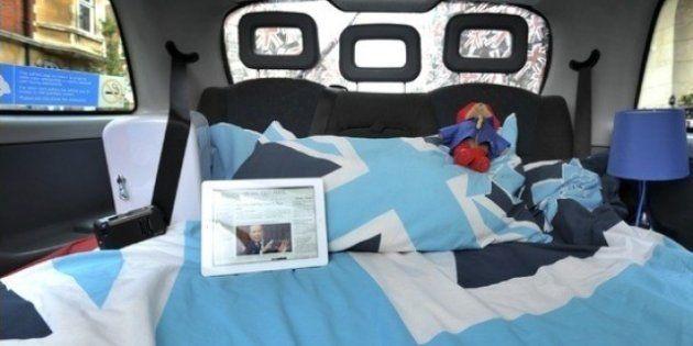 Un taxi-hotel y otros alojamientos curiosos durante los juegos olímpicos en Londres