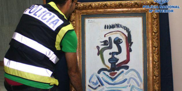Detenidas cuatro personas que querían vender un falso Picasso por un millón de