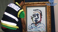 Detenidos por querer vender un Picasso falso por un millón de