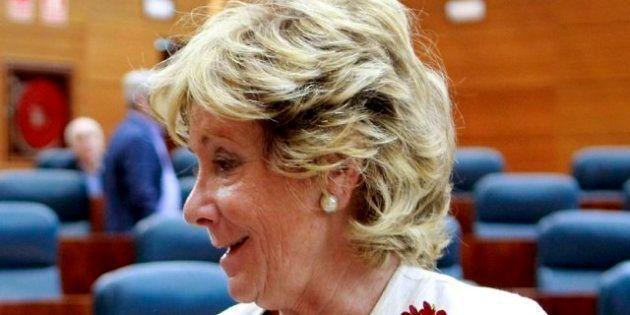 Esperanza Aguirre pide restaurar el