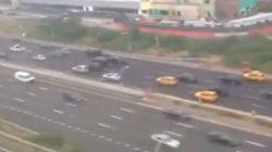 Un pasajero filma desde la ventanilla el accidente del avión en el que viajaba
