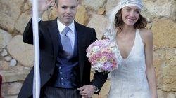 La boda de Andrés Iniesta con Anna Ortiz