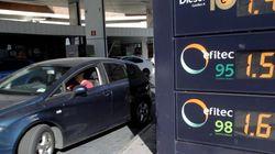 El precio de la gasolina sube 10 euros en un
