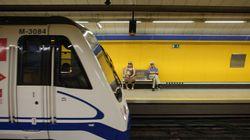 Accidente de Metro en Príncipe Pío: 15 heridos