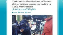 La Policía filia a los periodistas ante la Audiencia