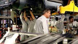 La producción industrial acumula un año de