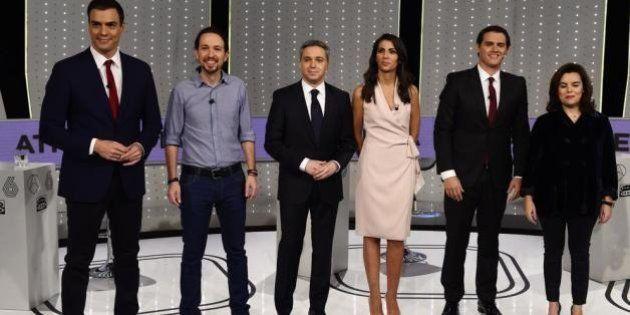 RTVE invita a un debate a los candidatos del 26J pese al poco