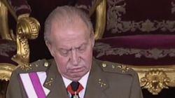 VÍDEO: ¿Qué le pasó al rey durante su