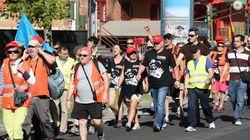 La Marcha Negra de los mineros unirá este martes sus columnas en