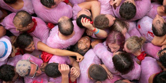 El chupinazo de San Fermín, en 19 imágenes