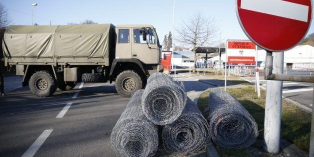 Austria construye una valla antirrefugiados en su frontera