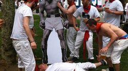 Muhammad Ali y Froilán en Sanfermín: así se hizo el viral
