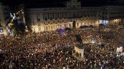 La 'noche minera' enciende Madrid (VÍDEO,