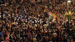 Madrid aclama a la Marcha Negra