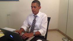 Chat serio: soy Obama y puedes preguntarme lo que