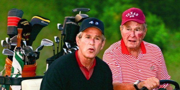 Los Bush no harán campaña por