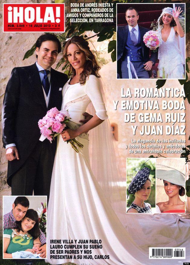 Boda de Gema Ruiz: la ex de Cascos se casa irreconocible