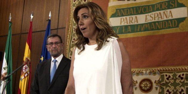 Susana Díaz ya es la presidenta de la Junta de Andalucía: