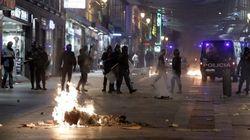 Nuevas cargas policiales tras otra marcha contra los recortes en Madrid