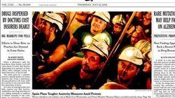 Los recortes y las protestas, en la prensa extranjera