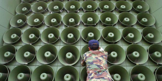 Seúl retomará la propaganda contra Pyongyang mediante altavoces instalados en la