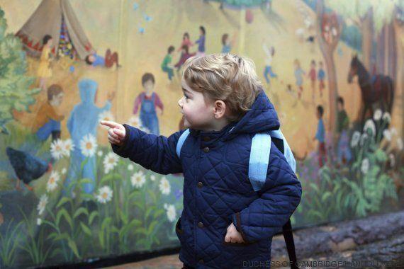 El príncipe Jorge ya va al cole: primeras fotos del hijo de Guillermo y Kate en la