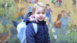 El príncipe Jorge ya va al