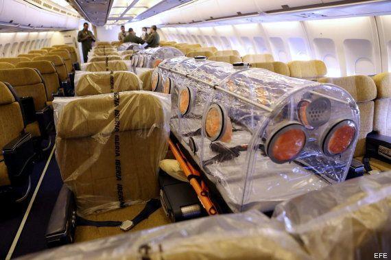 Sanidad, sobre la repatriación del español con ébola: