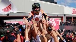Así ha sido la carrera en la que Márquez ha ganado el Mundial