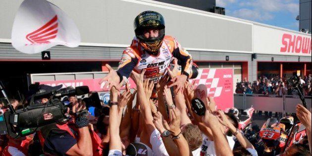 Así ha sido la carrera en la que Márquez ha ganado el