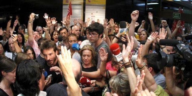 Los sindicatos convocan concentraciones en los puestos de trabajo este viernes contra los