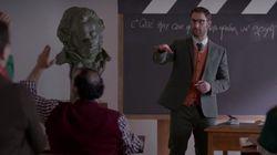 Dani Rovira da clases de cómo obtener un Goya en el 'spot' de los premios