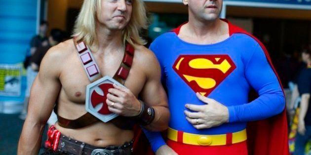 Comic Con 2012: 'Frikis' y famosos confraternizan