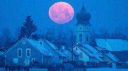 Una luna llena de cuento y otras fotos sorprendentes del