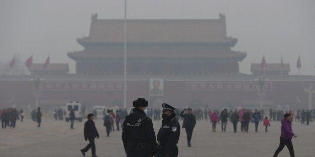 Pekín, en alerta roja por la