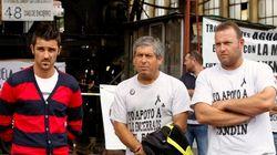 David Villa apoya a los mineros encerrados en el pozo