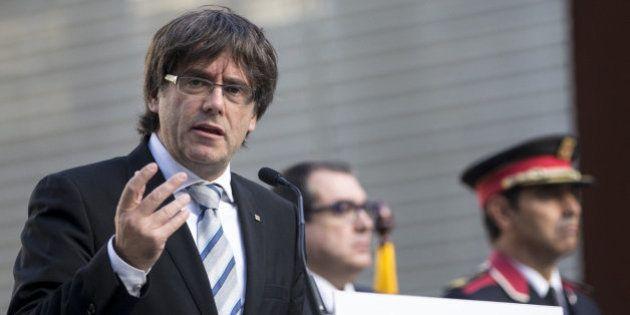 Puigdemont denunciará a un usuario de Twitter que amenazó con ponerle una