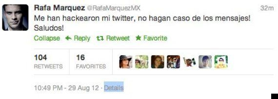 'Hackean' las cuentas oficiales de Twitter de varios futbolistas y famosos (FOTOS,