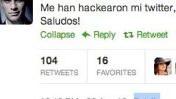'Hackean' las cuentas de Twitter de varios futbolistas y famosos (FOTOS,