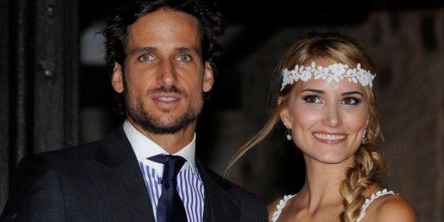 Fotos de la boda de Alba Carrillo y Feliciano López: el tenis se va de