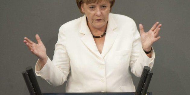 La canciller Angela Merkel advierte de que