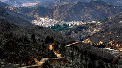 Extinguido el incendio de Cortes de Pallás 18 días después