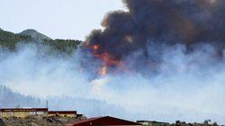 Un nuevo incendio azota la isla canaria de La