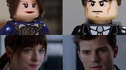 La versión LEGO del tráiler de 'Cincuenta sombras de Grey'