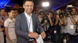 Bartoméu, presidente del Barcelona según las