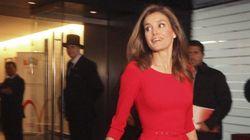 La princesa Letizia, de 'rojo olímpico'