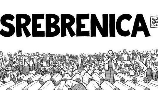 Lee el primer capítulo de 'Srebrenica, el webcomic', el último trabajo de Joe